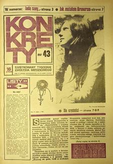 Konkrety : nr 43 (128), październik `74