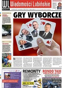 Wiadomości Lubińskie : nr 177, październik 2010