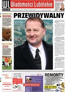Wiadomości Lubińskie : nr 180, listopad 2010
