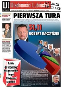 Wiadomości Lubińskie : nr 181, listopad 2010 wydanie specjalne