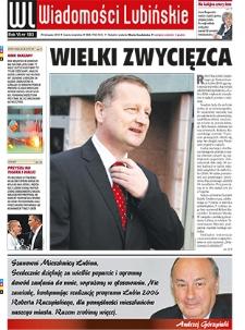 Wiadomości Lubińskie : nr 183, listopad 2010