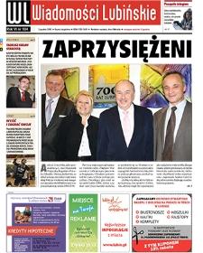 Wiadomości Lubińskie : nr 184, grudzień 2010