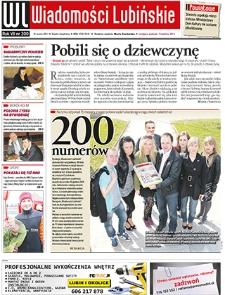 Wiadomości Lubińskie : nr 200, marzec 2011