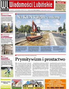 Wiadomości Lubińskie : nr 213, lipiec 2011
