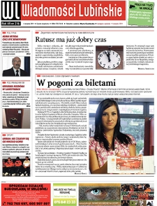Wiadomości Lubińskie : nr 216,sierpień 2011