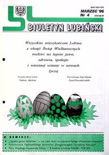 Biuletyn Lubiński : nr 4 (72), marzec `96