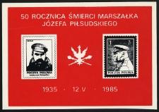 50. rocznica śmierci Marszałka Józefa Piłsudskiego