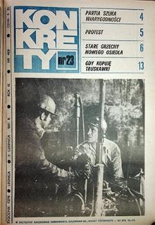Konkrety : nr 23 (469), czerwiec `81