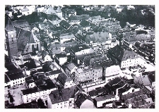Lubin : Panorama miasta z lotu ptaka