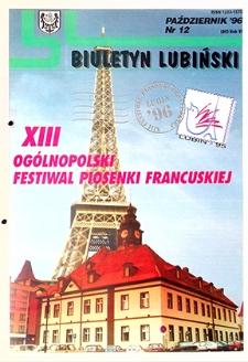 Biuletyn Lubiński : nr 12 (80), październik`96