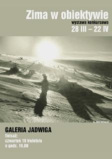 Zima w obiektywie : Wystawa konkursowa