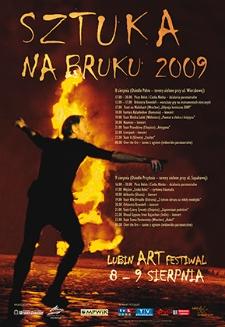 Sztuka na bruku 2009 : Lubin Art Festiwal