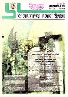 Biuletyn Lubiński : nr 14 (82), listopad `96