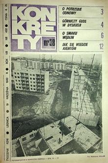 Konkrety : nr 38 (432), wrzesień `80