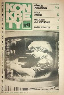 Konkrety : nr 41 (435), październik `80