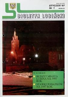 Biuletyn Lubiński : nr 1 (84), styczeń `97