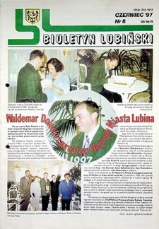 Biuletyn Lubiński : nr 8 (90), czerwiec `97