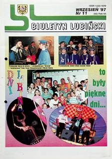 Biuletyn Lubiński : nr 11 (93), wrzesień `97