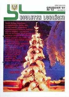 Biuletyn Lubiński : nr 12 (94), grudzień `97