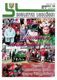 Biuletyn Lubiński : nr 3 (97), marzec `98
