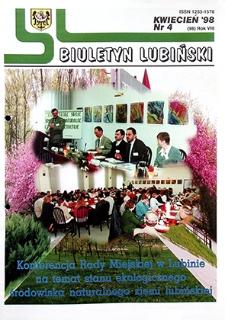 Biuletyn Lubiński : nr 4 (98), kwiecień `98