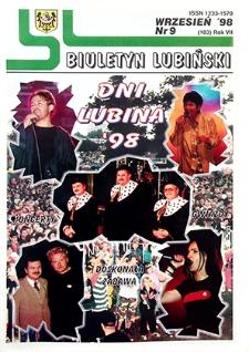 Biuletyn Lubiński : nr 9 (103), wrzesień `98
