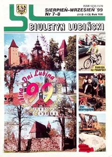 Biuletyn Lubiński : nr 7 (112), 8 (113), sierpień, wrzesień `99