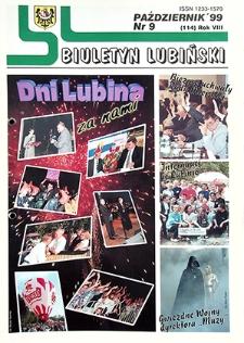 Biuletyn Lubiński : nr 9 (114), październik `99