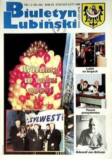 Biuletyn Lubiński : nr 1 (115), 2 (116), styczeń, luty 2000