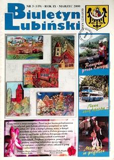 Biuletyn Lubiński : nr 3 (119), marzec 2000