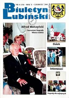Biuletyn Lubiński : nr 6 (134), czerwiec 2001