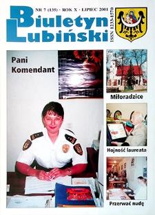 Biuletyn Lubiński : nr 7 (135), lipiec 2001