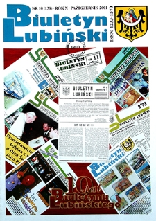 Biuletyn Lubiński : nr 10 (138), październik 2001