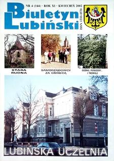 Biuletyn Lubiński : nr 4 (144), kwiecień 2002
