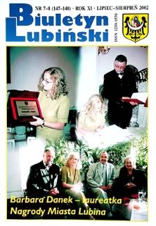 Biuletyn Lubiński : nr 7 (147), 8 (148), lipiec, sierpień 2002