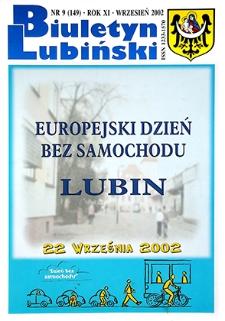 Biuletyn Lubiński : nr 9 (149), wrzesień 2002