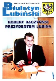 Biuletyn Lubiński : nr 11 (151), listopad 2002