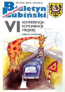 Biuletyn Lubiński : nr 3 (155), maj 2003 wydanie specjalne