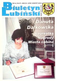 Biuletyn Lubiński : nr 5 (156), 6 (157), lipiec, sierpień 2003