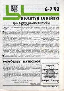 Biuletyn Lubiński : nr 6, 7, `93