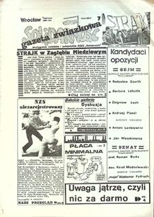 Gazeta Związkowa Solidarność : nr 7, czerwiec `89