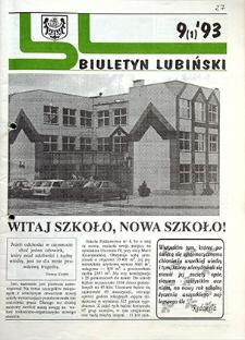 Biuletyn Lubiński : nr 9 (1), `93
