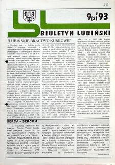 Biuletyn Lubiński : nr 9 (2), `93