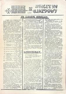 Biuletyn Zjazdowy : nr 18, październik `81