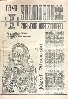 Solidarność Zagłębia Miedziowego ; nr 43, listopad `81