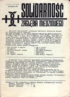 Solidarność Zagłębia Miedziowego Biuletyn Informacyjny ;