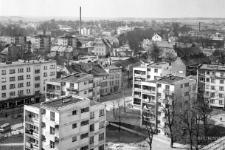 Widok na ulicę Szeroką (obecnie Tysiąclecia)