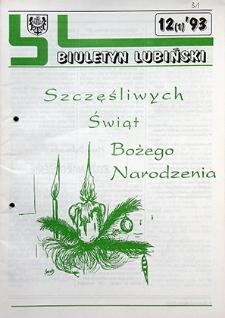 Biuletyn Lubiński : nr 12 (1), `93