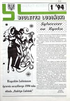 Biuletyn Lubiński : nr 1, `94