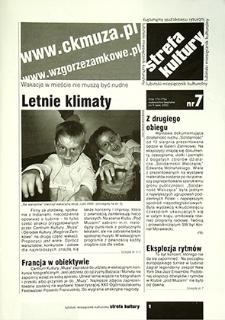 Strefa Kultury : nr 7 (9), lipiec 2005